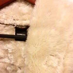 Express Jackets & Coats - Faux Fur Coat